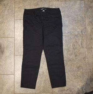 Old Navy Black Pixie Pant